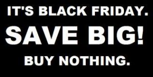 Black Friday - Compro logo existo